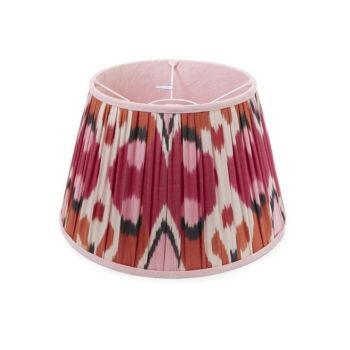 orange and pink ikate lampshade melodi horne