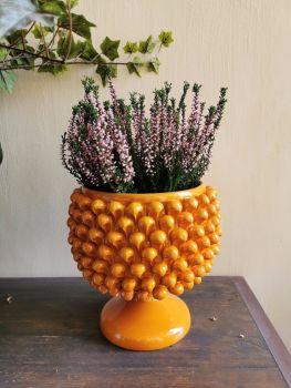 Agata treasures Sicilian pine cone bowl