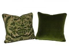 French 19th Century Needle Point Cushion