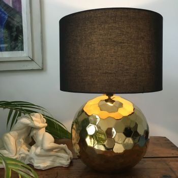 Kolton Gold Ceramic Table Lamp