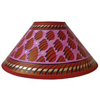 Pink Paw Print Lampshade