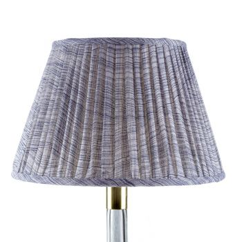 Bespoke Wave Lampshade in Indigo