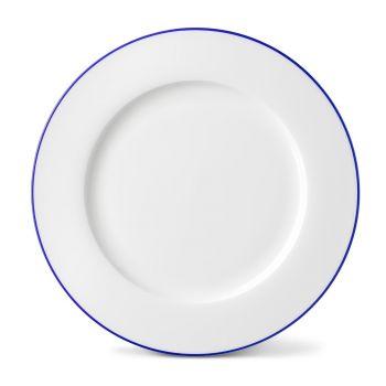 Rainbow Dinner Plate in Lapis Lazuli