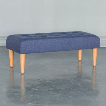 Large Classic Custom Made Footstool