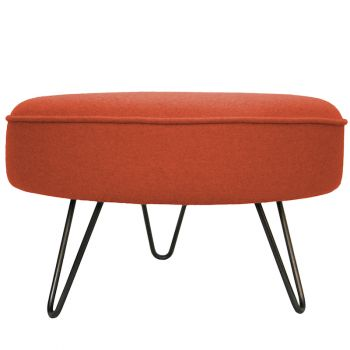 Large Hairpin Leg Footstool