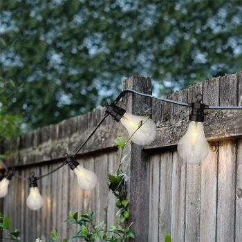 LED Bulb Garden String Lights