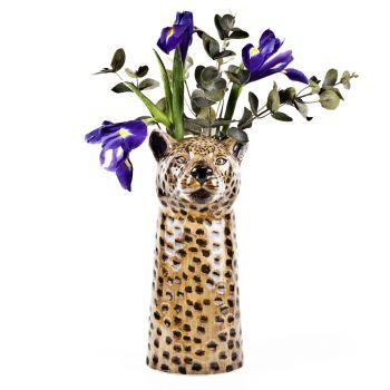 Leopard Flower Vase Quail Ceramics