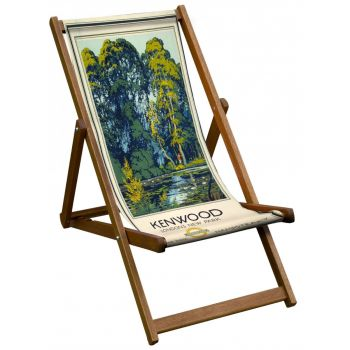 Vintage Style Deckchair with Kenwood Design Sling