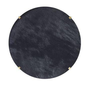 Black Hide Table Mats