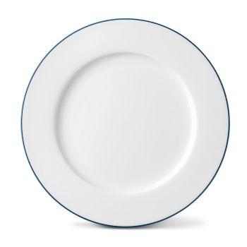 Rainbow Dinner Plate in Marine Blue