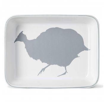 Guinea Fowl Rectangular Oven Dish