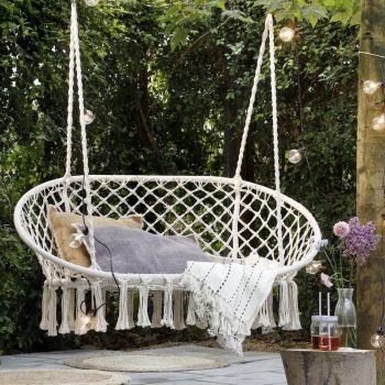Metal Rope Double Hanging Chair