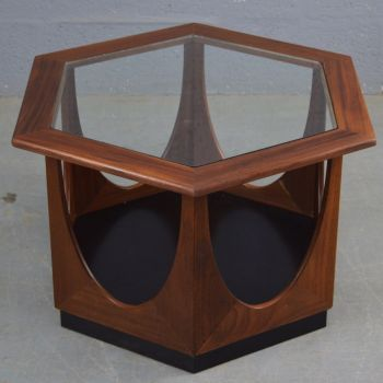 Mid-Century Hexagon Coffee Table by G Plan