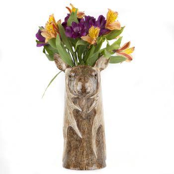 Elephant Flower Vase Quail Ceramics