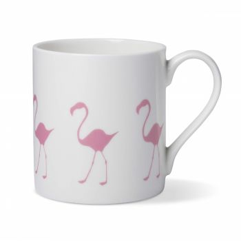Pink Flamingo Coffee China Mug