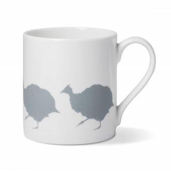 Guinea Fowl Coffee China Mug