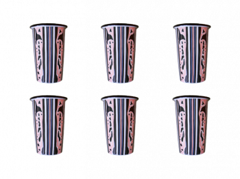 The Ophelia Set of 6 Tumblers Bell Hutley