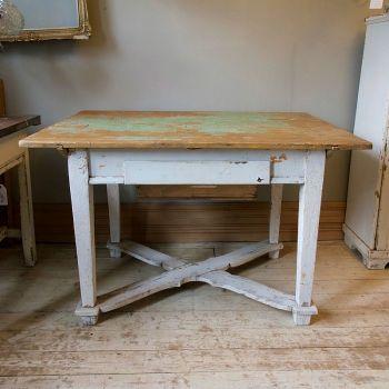 Original Distressed Rustic Vintage Hungarian Table