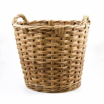 Rattan Log Basket, Fireside, Accessories