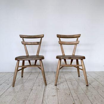 Pair Of Children's Ercol Chairs