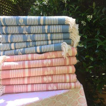 Pink Cotton Rug Sarah K