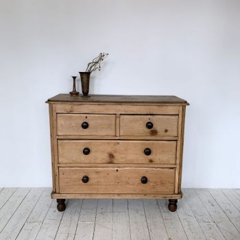 19th Century Gnarly Tansu Campaign Chest of Drawers