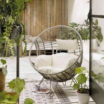 Rattan Indoor Outdoor Egg Chair