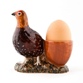 Dachshund with Egg Cup Quail