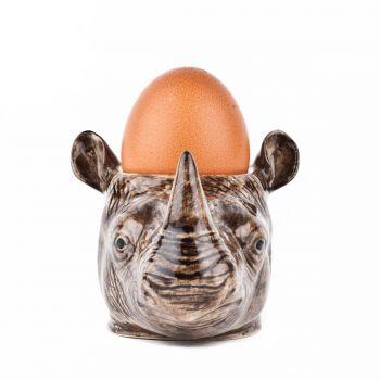 Dachshund Face Egg Cup Quail Ceramics