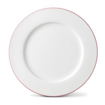 Rainbow Dinner Plate in Rose Pink