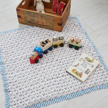 Blue Duck Cotton Quilt Sarah K