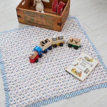 Blue Duck Cotton Quilt Sarah K