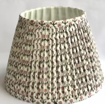 Green Arjuna Cotton Indian Style Lampshade