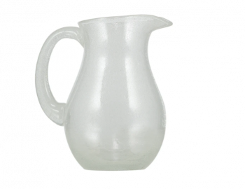 British Colour Standard Apple Green Glass Jug Designed by colour