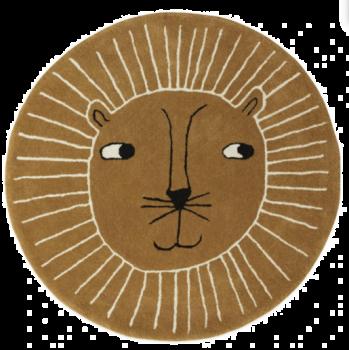 children's lion head rug nursery rug