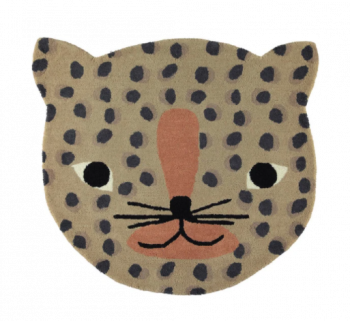 Children's Leopard Character Rug Nursery Rug