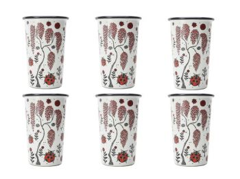 Lady Bird Set of 6 Tumblers Bell Hutley