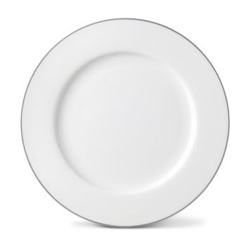 Rainbow Dinner Plate in Stone Grey