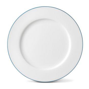 Rainbow Dinner Plate in Teal