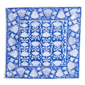 Lotus Jal Napkins in Blue