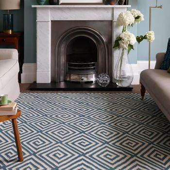 Tribe Rug in Teal