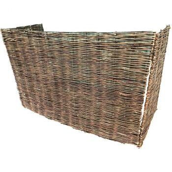 willow wheelie bin screen, bin screen