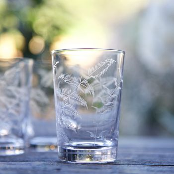 Set of 6 'Ferns' Tumblers