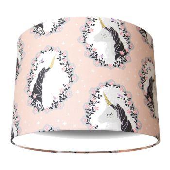 Pink Unicorns Lampshade