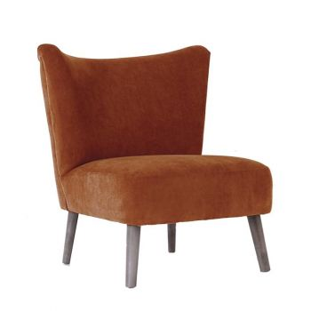 Upholstered Linen Chair