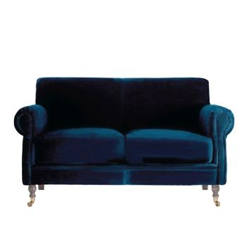 Velvet Traditional Upholstered Classic Sofa