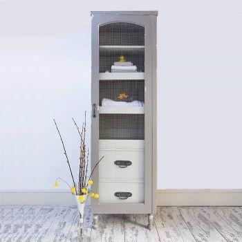 Vintage Style Linen/Filing Cupboard