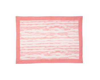 Birdie Fortesque Mishran Placemat in Blossom Pink