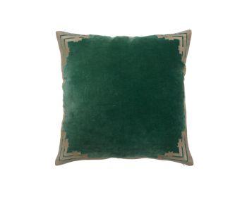 green velvet cushion birdie fortesque