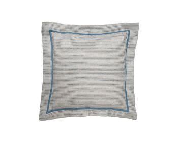 blue striped cushion birdie fortesque